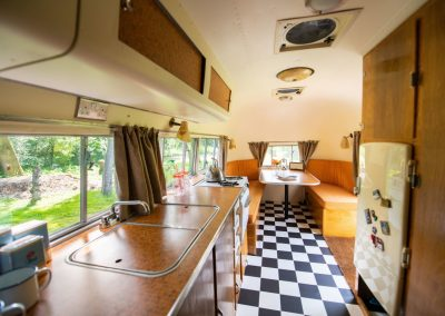 Airstream Caravanner interior