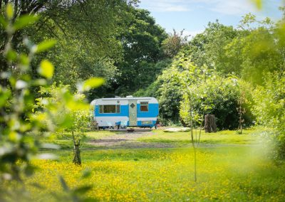 Luxury glamping Norfolk Jewel Caravan