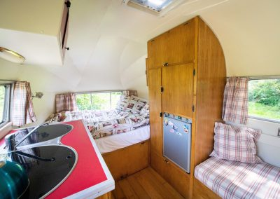 Airstream glamping in Norfolk