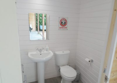 Camp HQ toilet