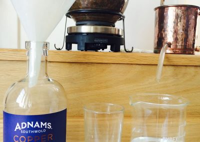 Adnams Gin Making